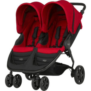 B-AGILE DOUBLE Flame Red