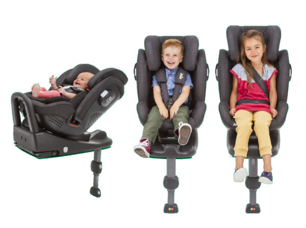 Stages2 600x447 - Joie Stages 0-25 Isofix kg kolor Pavement