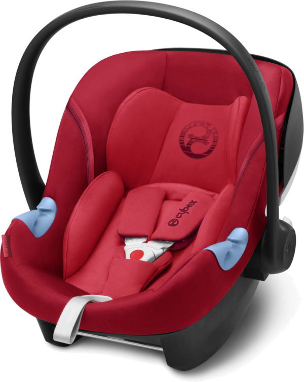 cybex aton m i size rebel red 600x754 - Cybex Aton M i-Size kolor Rebel Red
