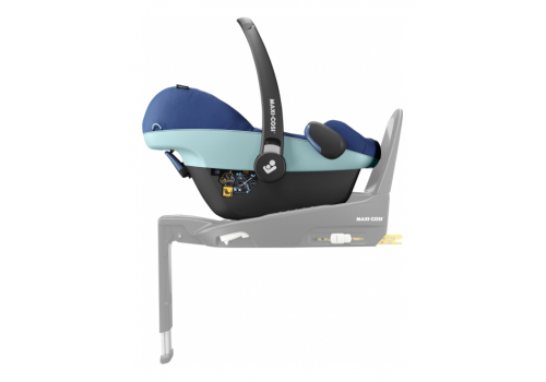 maxi cosi pebble pro essential blue 01 - Maxi-Cosi Pebble Pro i-Size (45-75 cm) kolor Essential Blue