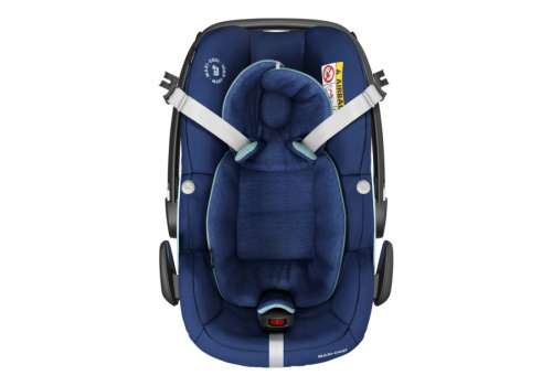 maxi cosi pebble pro essential blue 03 - Maxi-Cosi Pebble Pro i-Size (45-75 cm) kolor Essential Blue