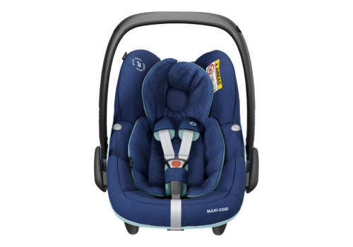 maxi cosi pebble pro essential blue 04 - Maxi-Cosi Pebble Pro i-Size (45-75 cm) kolor Essential Blue