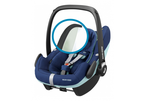 maxi cosi pebble pro essential blue 05 - Maxi-Cosi Pebble Pro i-Size (45-75 cm) kolor Essential Blue